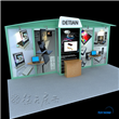 Compact Exhibit Booth