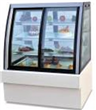 Luxury Front And Back Door Cake Showcase Chiller