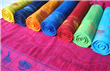 100% Cotton Velvet Beach Towels