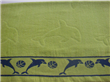 Large Cotton Jacquard Velour Beach Towels