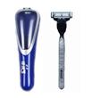 Gillette mach3 razor blades handle with one blade in travel case