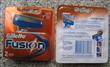 Gillette fusion razor blades 2pack Russia version