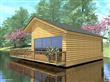 Wood Plastic Composite House