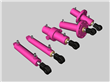 Forklift Small Hydraulic Cylinders