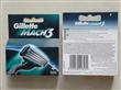Gillette Mach3 razor blades of 4pack Multi-language