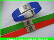 Silicone 2-Dimensional Barcode Wristband