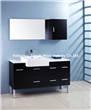 55 inch bathroom vanity with square legs