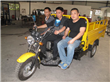 Cargo Three Wheel Motor Tricycle