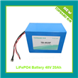 48V20Ah Motorcycle Battery Pack with PCM Protection