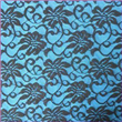 "Lace Fabric, 55 to 57"" in Width, Made of 95% Nylon and 5% Spandex"