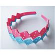 White Dots Plastic Headband