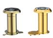 200 degree brass door peephole scope