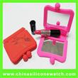 Silicone Mirror Purse Wallet Bag