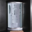 Round Single Steam Shower Room