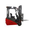 Full AC 3 wheel electric forklift truck