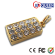Rectangle Diamond Embedded USB Drive