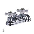 Modern Double Handle Faucet