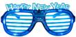New Year Gift Shutter LED Glasses