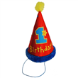 1ST BIRTHDAY CONE HAT   Y134001