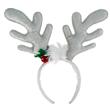 CHRISTMAS REINDEER ANTLER WHITE