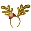 CHRISTMAS SEQUIN REINDEER ANTLER