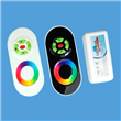 RF touch remote RGB LED controllers
