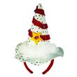 CHRISTMAS MINI HAT HEADBAND W/LED LIGHTS
