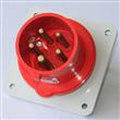 IP44 16A Panel mounted inlet/Panel Plug