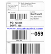 security EAS barcode label
