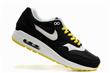 Nike Air Max 87 Shoes 308866 black white yellow