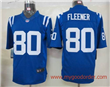 Nike NFL Indianapolis Colts 80 Fleener Blue Limited Jersey