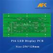 P16 LED display pcb