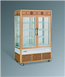 Aluminum Alloy Upright Refrigerated Display Cooler