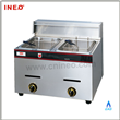 2 Tanks Gas Fryer