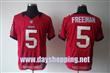 Tampa Bay Buccaneers 5 Freeman red Elite jersey
