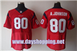 nike NFL jersey Texans 80 A.Johnson red