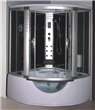 Large size steam shower room with Jacuzzi and TV 9042