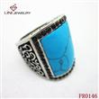 Fashion Gem Stainless Steel Ring