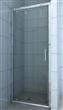 Chrome Pivot glass door