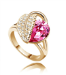 Crystal, Rhinestone , 925 silver rings