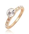 Fashion crystal rings , silver jewelry, custom jewelry