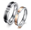 High polished Titanium steel Rings, Lead free,nickel free