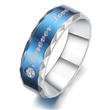 Fashion Titanium steel Rings , Engraved custom logo