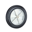 Rubber Wheel With Plastic Rim