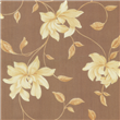 modern hot big flowers wall covering