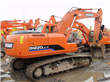 used excavator from Daewoo