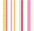 stripes design wallpaper for kids room