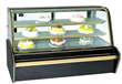 Luxury Double Arc Cake Display Showcase