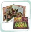 Lion Hardcover Book