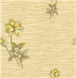 elegant natural flower decorative wallcovering